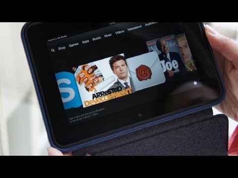 "Amazon Kindle Fire HD 7"" Official Case Hands On & Quick Review"