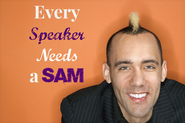 Every Speaker needs a SAM @Michelle_Mazur