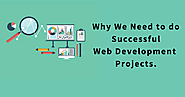 Why We Need To Do Successful Web Development Projects.
