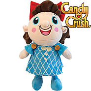 Kimmi Candy Crush Plush Toys Marshmallow Yeti Bubble Gum Troll