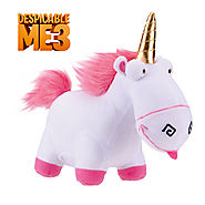 Fluffy Unicorn Plush Toys Licensed Despicable Me 3 Soft Pillow Stuffed Teddy