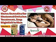 Home Remedies for Nocturnal Emission Treatment, Stop Nightfall in Men