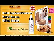Herbal Lady Secret Serum for Vaginal Dryness, Itching, Burning