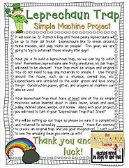 Simple Machines Leprechaun Trap
