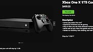 Get the Microsoft Xbox One X plus free shipping & Returns. - Zappy Deals