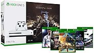 Xbox One S 1TB Console – Shadow of War Bundle + 2 Free Select Games of Choice - Zappy Deals