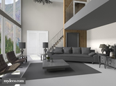 Mydeco 3D: Design your rooms in realistic 3d