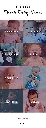 17 French Baby Names That Are Prime for an American Takeover | French baby, Babies and Baby fever