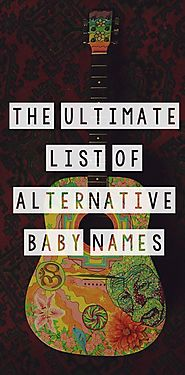 The Ultimate List of Alternative Baby Names { bohemian, hippie, offbeat, fantasy, goth baby names} | Goth baby, Alter...