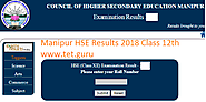 www.manresults.nic.in Manipur HSE Result 2018 All Toppers Class 12 COHSEM