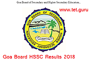 Goa Board HSSC Result 2018 Complete Regions Online 12th Class Marks gbshse.gov.in