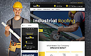 Summit - Roofing Responsive WordPress Theme Business & Services Maintenance Services Roofing Company Template