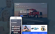 Transit - Logistics and Transportation Service WordPress Theme Business & Services Transportation Trucking Template