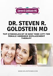 Top Gynecologist in New York City for Female Hormone Replacement Therapy