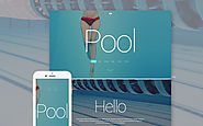 Pool Cleaning WordPress Theme Business & Services Maintenance Services Swimming Pool Template