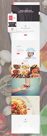 Taste WordPress Theme Food & Restaurant Food & Drink Template