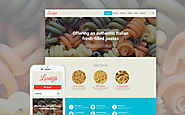 Italian Restaurant Responsive WordPress Theme Food & Restaurant Cafe and Restaurant European Restaurant Template