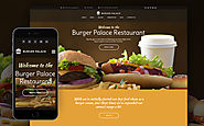 Burger Palace - Fast Food Restaurant WordPress Theme Food & Restaurant Cafe Fast Food Restaurant Template