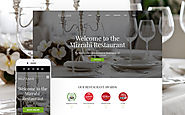 Mizrahi - Kosher Restaurant WordPress Theme Food & Restaurant Cafe and Restaurant Template