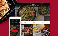 Tanaka - Japanese Restaurant WordPress Theme Food & Restaurant Cafe Asian Japanese Restaurant Template