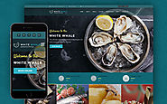 White Whale - Seafood Restaurant WordPress Theme Food & Restaurant Cafe Seafood Restaurant Template