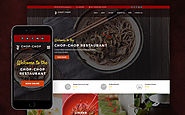 Chop-Chop - Asian Restaurant WordPress Theme Food & Restaurant Cafe Asian Restaurant Template