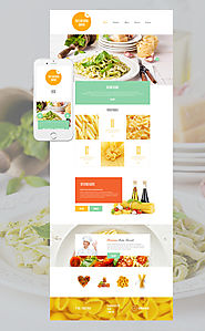 Pasta and Ravioli Company WordPress Theme Food & Restaurant Cafe European Italian Restaurant Template