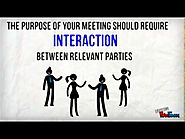 How To Conduct An Effective Meeting