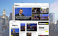 KingNews - Magazine News Portal & Blog WordPress Theme Business & Services Media News Portal Template