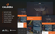 Caldera - Steelworks and Constructions WordPress Theme Business & Services Industrial Steelworks Template