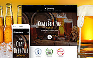 GutenBerg - Beer Pub and Brewery WordPress Theme Food & Restaurant Brewery Pub Template