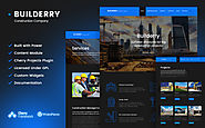 Builderry - Construction Company WordPress Theme Design & Photography Architecture Construction Company Template