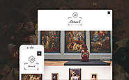 Artwork WordPress Theme Art & Culture Gallery Template