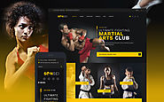 Sensei - Martial Arts WordPress Theme Sports Martial Arts Template