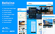 Bellaina - Real Estate Responsive WordPress theme Real Estate Template