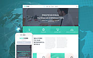 Accounting Website Responsive WordPress Theme Business & Services Template