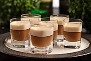 Irish Coffee Jello Shots
