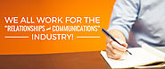We all work for the Relationships and Communications Industry! - Redkite Digital Marketing