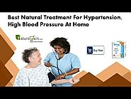 Best Natural Treatment for Hypertension, High Blood Pressure at Home