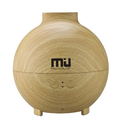 MIU COLOR™ 600ML Aroma Atomizer Air Humidifier LED Ultrasonic Purifier Diffuser (Sandal Wood)