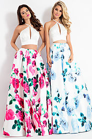 Floral Two-piece style