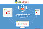 How does Comodo SSL Certificate secure your website?