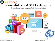 Get A Great Solution for E-Commerce Website-Comodo Instant SSL Pro Cerificates