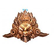 Website at https://www.craftvatika.com/vintage-style-mahakala-buddha-mask-himalayan-tibetan-art-wall-hanging.html