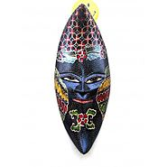 Website at https://www.craftvatika.com/venetian-mask-african-tribal-wooden-handpainted-wall-mask.html