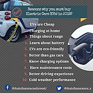 Reasons why you must buy Electric Cars in 2018 | Auto Insurance Invest