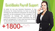 Contact QuickBooks payroll support number +1-800-586-6158