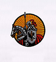 Christian Gallant Knights Embroidery Design | EMBMall