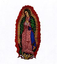 Moving Virgin Mary Embroidery Design | Machine Design | EMBMall