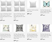 Shop decorative pillow covers online